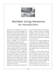 Sample page from Living Memories