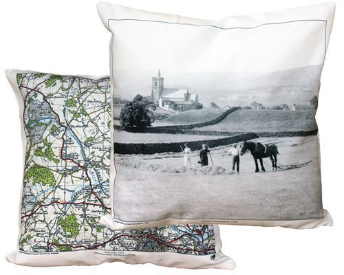 Map Cushions